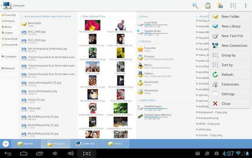Computer File Explorer - عکس برنامه موبایلی اندروید