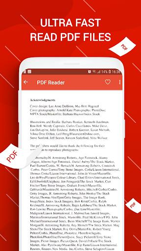 PDF Reader for Android - عکس برنامه موبایلی اندروید