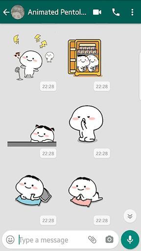 Pentol stickers Maker Animated for whatsapp 🤗 - عکس برنامه موبایلی اندروید