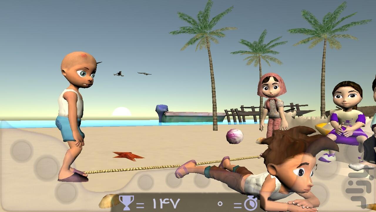 طناب بازی - عکس بازی موبایلی اندروید