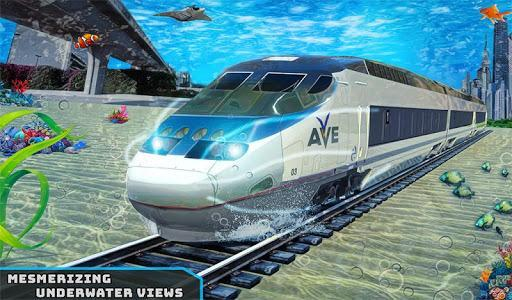 Underwater City Train Games - Image screenshot of android app