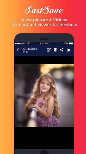 Fast save for instagram - عکس برنامه موبایلی اندروید