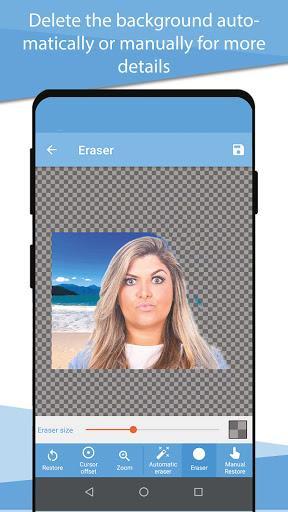 Cut and Paste photos - عکس برنامه موبایلی اندروید
