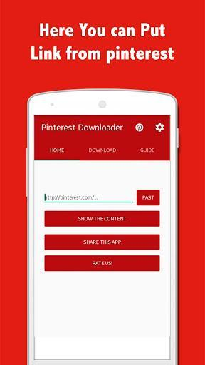 Pinsave - Image Downloader for Pinterest - عکس برنامه موبایلی اندروید