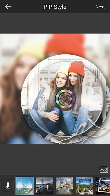 PIP Camera-Photo Editor Pro - عکس برنامه موبایلی اندروید