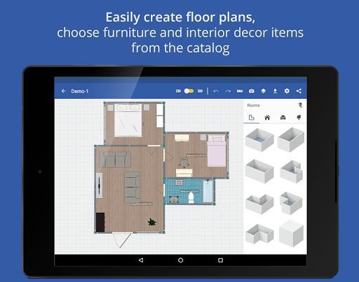 Swedish Home Design 3D - عکس برنامه موبایلی اندروید