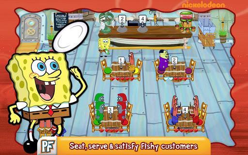 SpongeBob Diner Dash - عکس بازی موبایلی اندروید