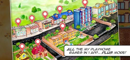 My PlayHome Plus – خانهی عروسکی من - عکس بازی موبایلی اندروید
