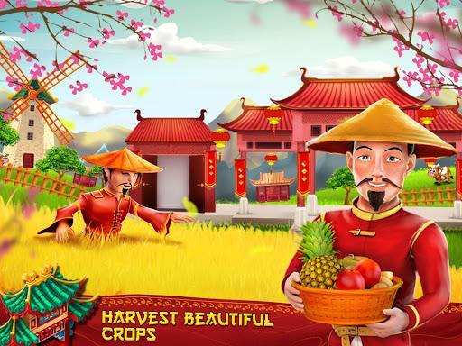 Asian Town Farm : Offline Village Farming Game - عکس بازی موبایلی اندروید