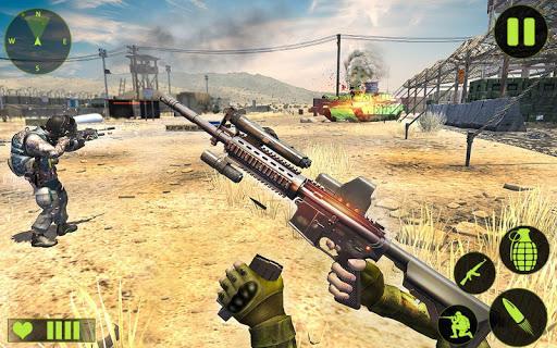 Real Shooting Strike: FPS Commando Shooting Games - عکس بازی موبایلی اندروید