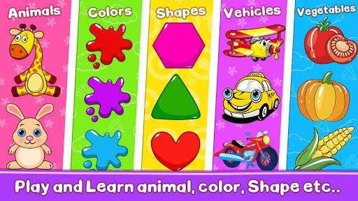 Toddler Learning Games for 2-5 Year Olds - عکس بازی موبایلی اندروید