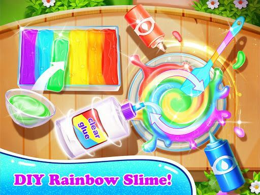Giant Unicorn Slime Simulator-Rainbow Slime Games - عکس برنامه موبایلی اندروید