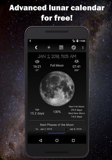 Moon Phase Calendar - عکس برنامه موبایلی اندروید