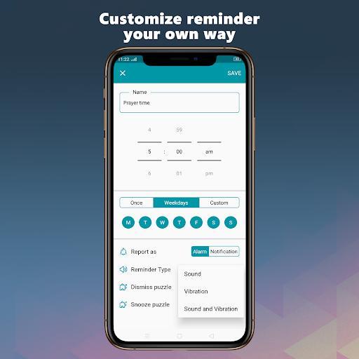 Reminder Alarm - عکس برنامه موبایلی اندروید