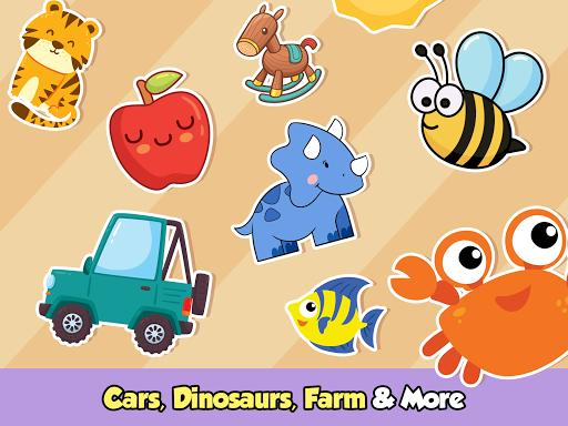Toddler Puzzles for Kids - Baby Learning Games App - عکس بازی موبایلی اندروید