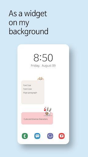 Cute Note DDay Todo - عکس برنامه موبایلی اندروید