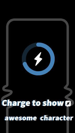 Pika! Charging show - charging animation – تم شارژ گوشی - عکس برنامه موبایلی اندروید