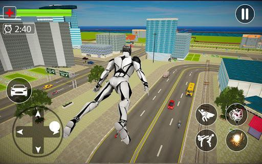 Flying Panther Robot Hero City Crime Fighter - عکس برنامه موبایلی اندروید