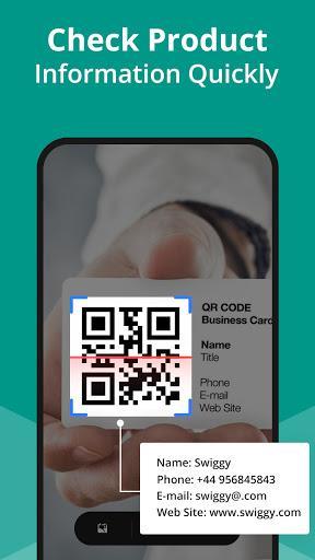 QR Code Scanner App - Barcode Scanner & QR reader - عکس برنامه موبایلی اندروید