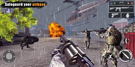 Gun games: Army war games - DSD - عکس بازی موبایلی اندروید