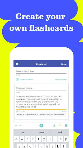 Quizlet: Learn Languages & Vocab with Flashcards - عکس برنامه موبایلی اندروید