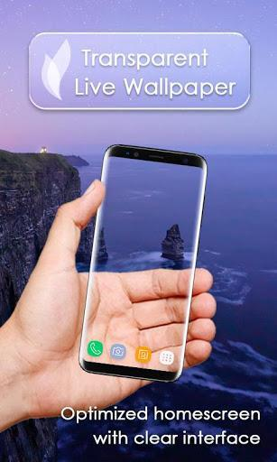 Transparent Live Wallpaper - عکس برنامه موبایلی اندروید