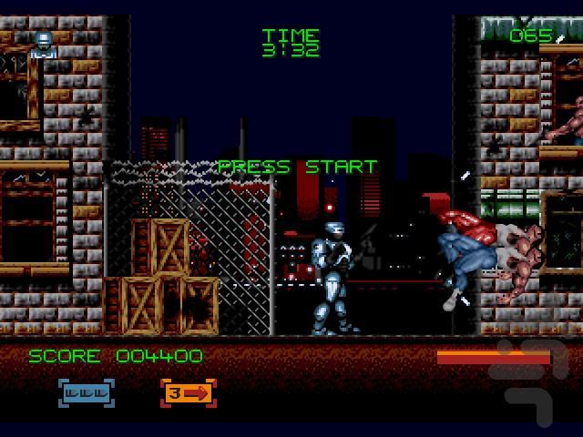 پلیس آهنی (جان نامحدود) - عکس بازی موبایلی اندروید