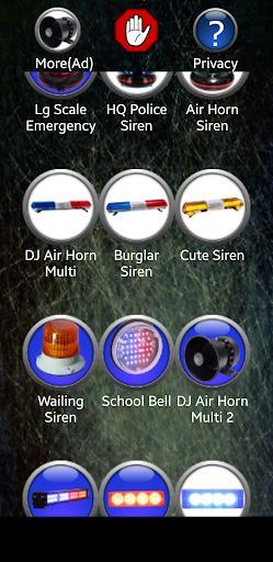 Siren Ringtones - عکس برنامه موبایلی اندروید