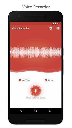 Voice Recorder – Record Unlimited Audio - عکس برنامه موبایلی اندروید
