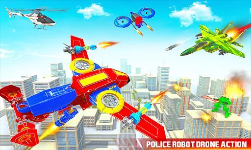 Police Drone Robot Car Game - عکس برنامه موبایلی اندروید