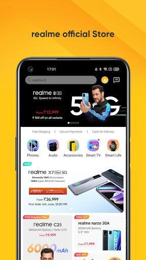 realme Store - عکس برنامه موبایلی اندروید