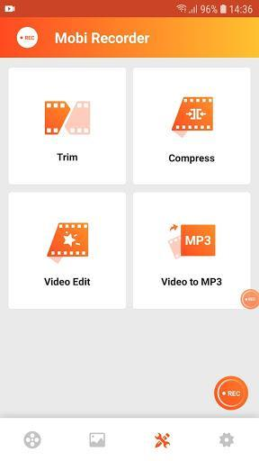 Capture Recorder Mobi Screen Recorder Video Editor - عکس برنامه موبایلی اندروید