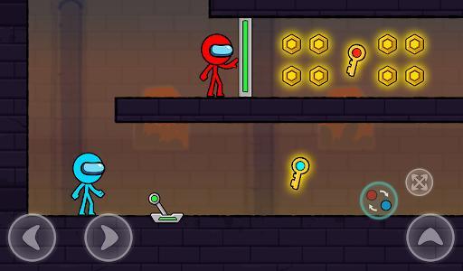 Red and Blue Stickman : Season 2 - عکس بازی موبایلی اندروید