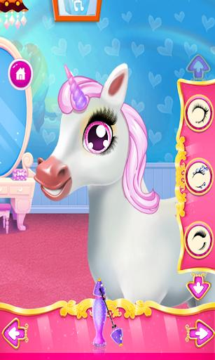 Unicorn Dress Up , Make Up & Girls Games - Gameplay image of android game
