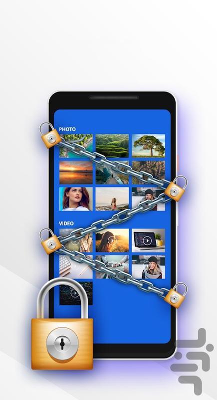 قفل برنامه های گوشی (سبک و خاص) - عکس برنامه موبایلی اندروید