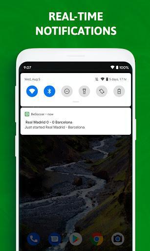 BeSoccer - Soccer Live Score - عکس برنامه موبایلی اندروید