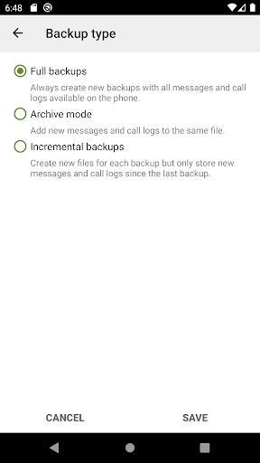 SMS Backup & Restore - عکس برنامه موبایلی اندروید
