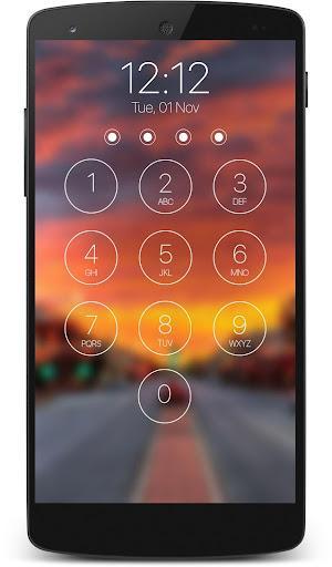 lock screen passcode - عکس برنامه موبایلی اندروید