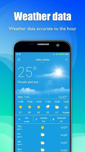 Daily Weather - عکس برنامه موبایلی اندروید