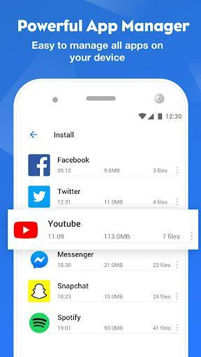 FileMaster – مدیریت فایلهای گوشی فایل مستر - عکس برنامه موبایلی اندروید