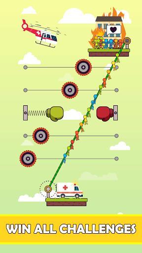 Rope Puzzle - عکس بازی موبایلی اندروید