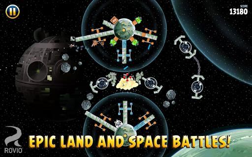 Angry Birds Star Wars - Gameplay image of android game