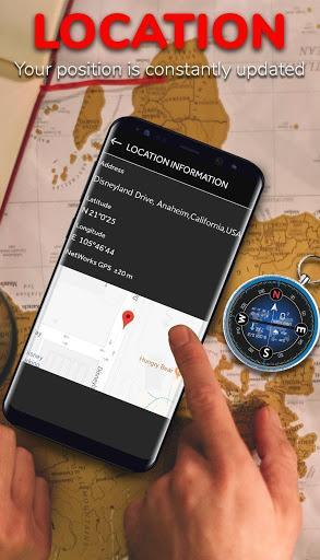 Smart Compass for Android - Compass App Free - عکس برنامه موبایلی اندروید
