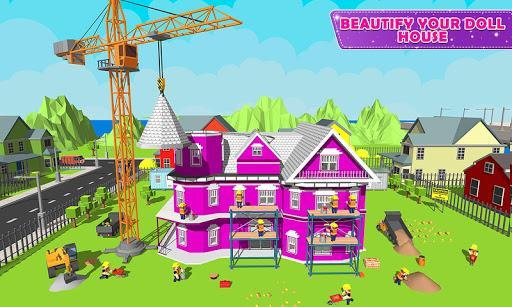 Doll House Design & Decoration 2: Girls House Game - عکس بازی موبایلی اندروید