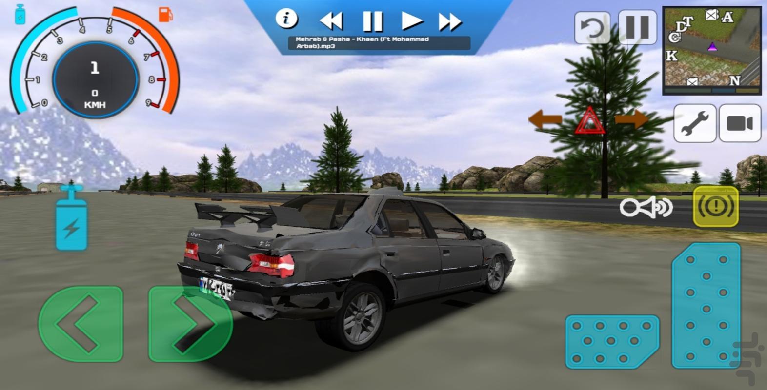 ماشین بازی باربری - عکس بازی موبایلی اندروید