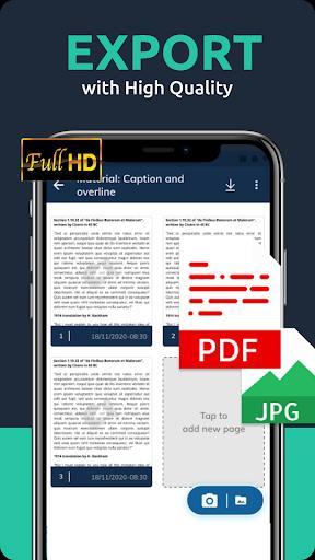 Cam Scanner App: PDF Scanner Pro, PDF-scanner - عکس برنامه موبایلی اندروید