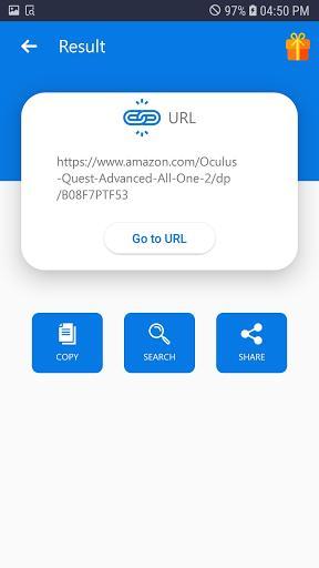 Free QR & Barcode Scanner PRO - عکس برنامه موبایلی اندروید