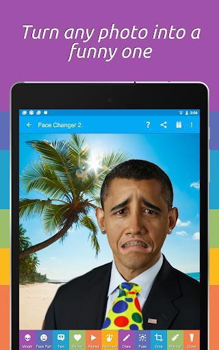Face Changer 2 - عکس برنامه موبایلی اندروید