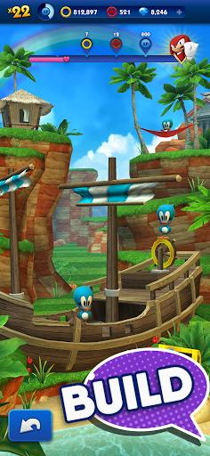 Sonic Dash - Endless Running - Gameplay image of android game
