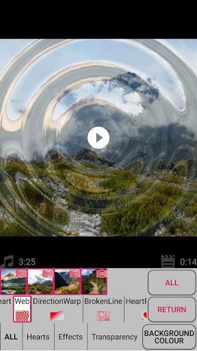 Slideshow with photos and music - عکس برنامه موبایلی اندروید